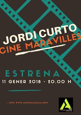 Cine Maravilles podcast P 520 11-01-18. 3 Anuncis e instants foscos