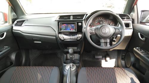 Interior Honda Brio Facelift