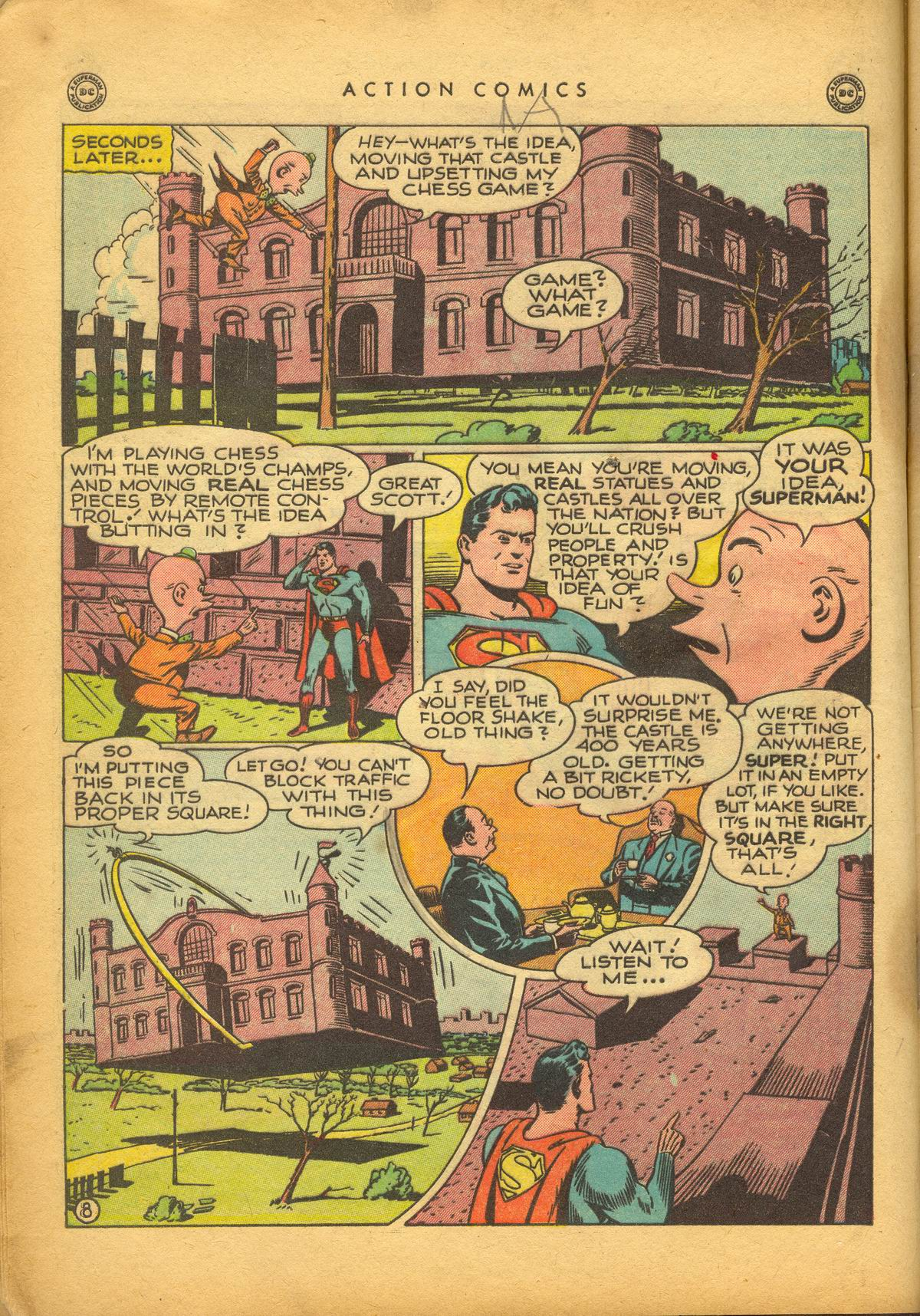 Read online Action Comics (1938) comic -  Issue #112 - 10