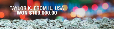 USA player won $100,000 on online slot machine