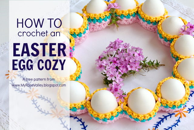 Easter Egg Cozy Pattern