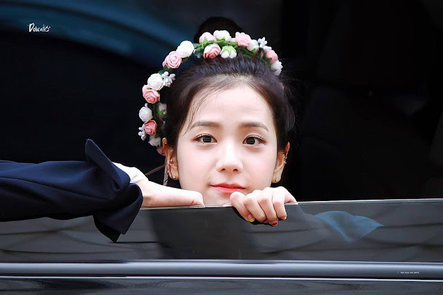 jisoo blackpink flower kpop image photo