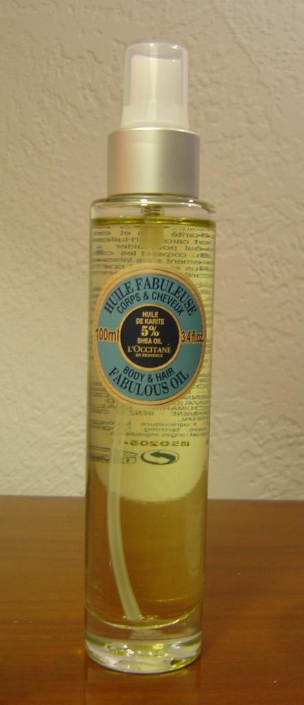 L'Occitane Shea Fabulous Body & Hair Oil
