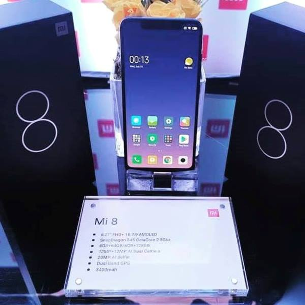 Xiaomi Mi 8 Arrives in PH; Price Starts at Php25,990!