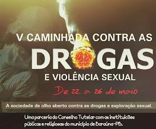 V Campanha Contra Drogas e Exploração Sexual inicia nesta segunda (22), em Baraúna