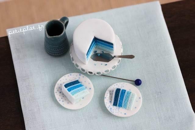 model miniature kek kecil