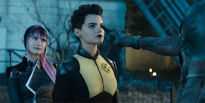 FOX Deadpool 2 Trailer Stills Deadpool Boops Negasonic's Nose