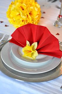 składanie serwetek dekoracje stołu