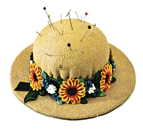 Vintage Pattern Marketplace: Straw Gardening Hat