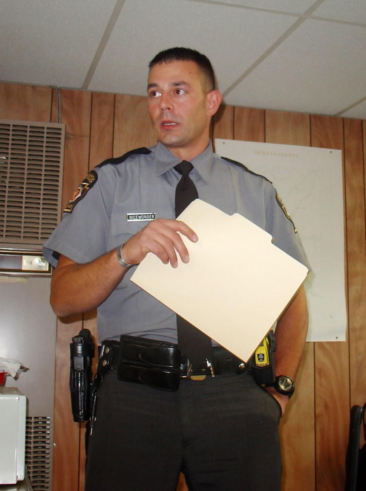 Port Allegany Online State Police Visit Township