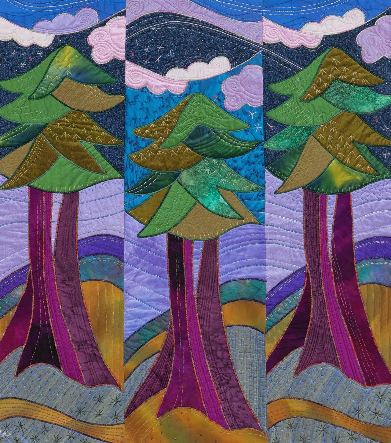 Artists Tell Their Stories: Rose Hughes, Quilt & Fiber Artist ... : quilting art - Adamdwight.com