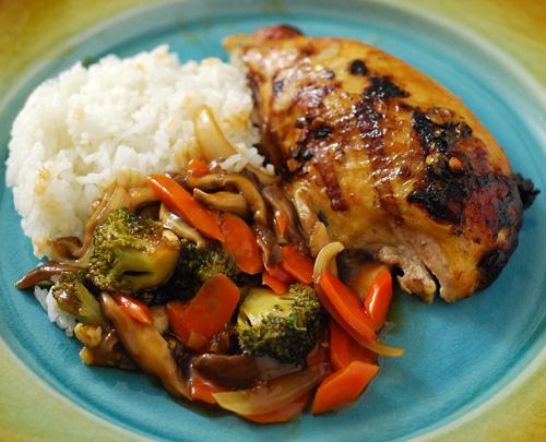 Chicken Broccoli Carrot Stir Fry