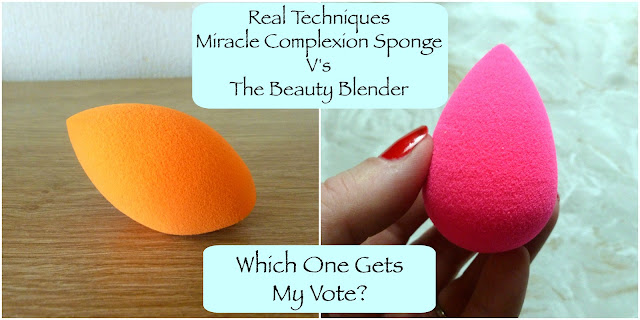 Real Techniques Miracle Complexion Sponge V's The Beauty Blender - Is There A Difference?