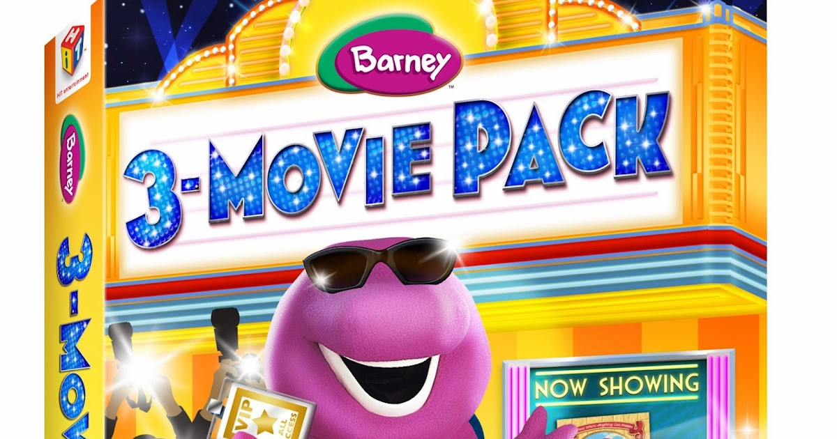 BARNEY®: 3 – MOVIE PACK Review - AnnMarie John