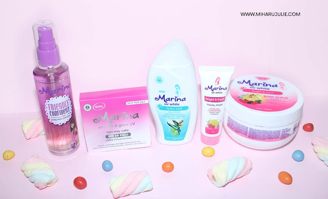 Marina Hydra Cool Gel Lotion & Marina Beauty Journey 2017