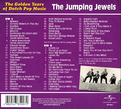 The Jumping Jewels - Golden Years Of Dutch Pop Music  +
