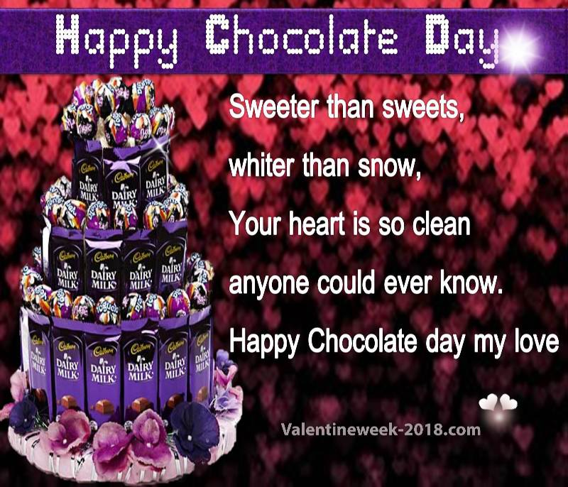 Happy chocolate day pics download 2018