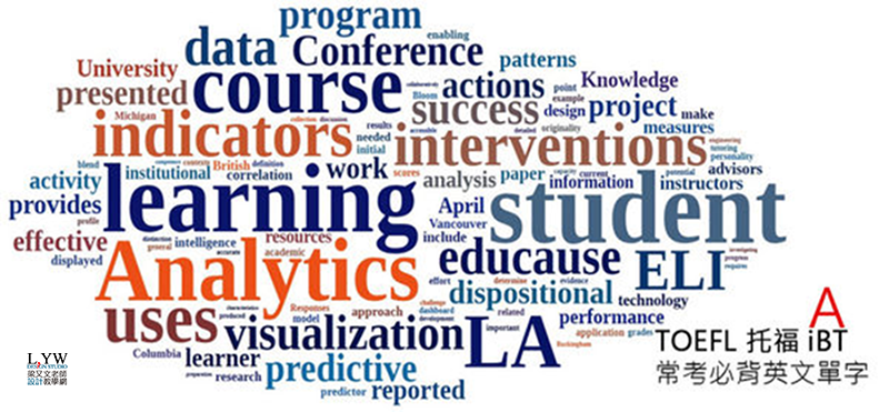 必考 TOEFL 托福單字與A字首單字表推薦: 近年高機率出現必背單字下載,免費學習教材筆記