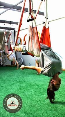 Sevilla formacion profesores Pilates aereo, cursos y seminarios
