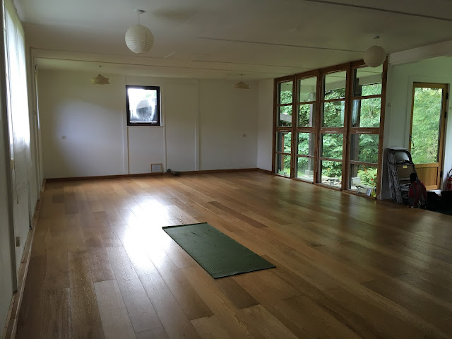 Yoga Studio - EcoYoga Scotland - Inverliever Lodge