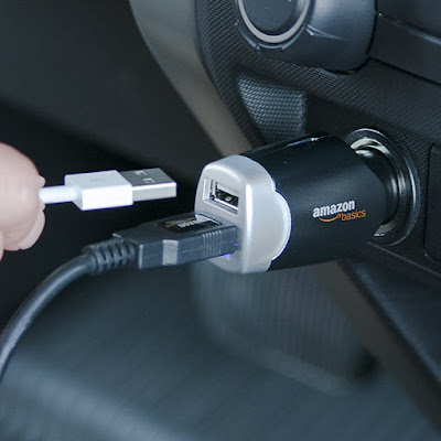 AmazonBasics USB Car Charger