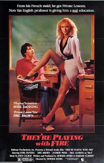 They're Playing With Fire 1984 movie poster