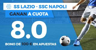 Paston Megacuota Serie A: Lazio vs Napoli 20 septiembre