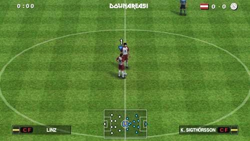 You must download ALL the parts as well as salve them inwards the same folder Pro Evolution Soccer 2012 PSP ISO