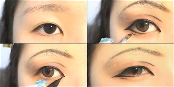 Cara Make up Mata Sipit Tanpa Kelopak