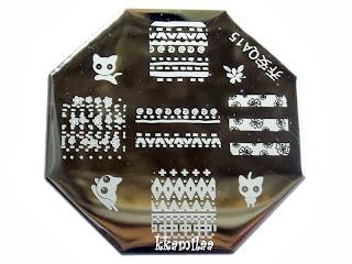 Born Pretty Store Stamping Plate QA15