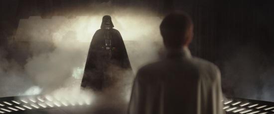 Orson Krennic comparece ante Darth Vader