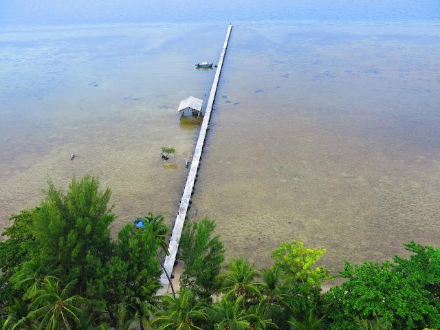 Keindahan Pulau Biawak Indaramayu
