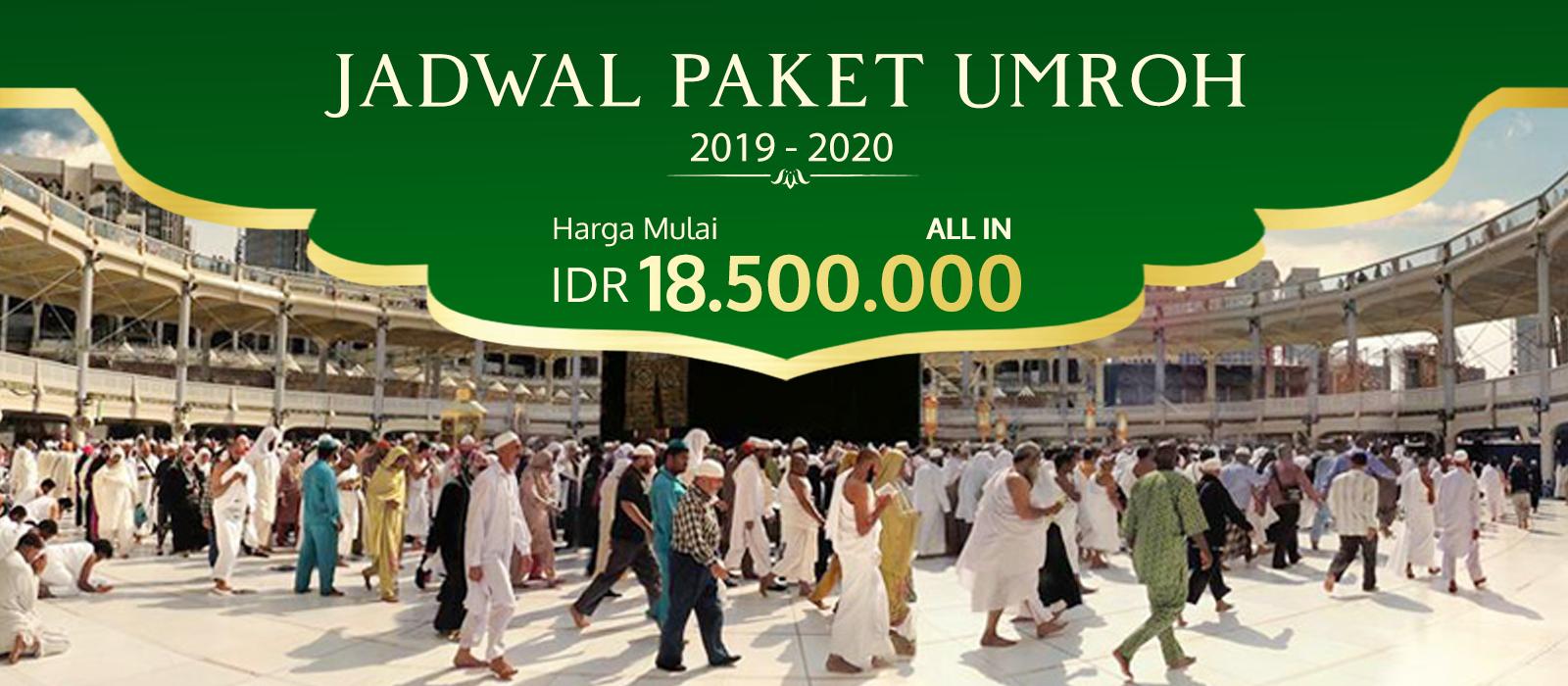 Jadwal Umroh Tahun 2019 - 2020 Biaya Paket Promo