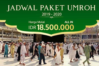 Jadwal Umroh 2019 - 2020 Biaya Paket Murah ada Promo 18 Jt