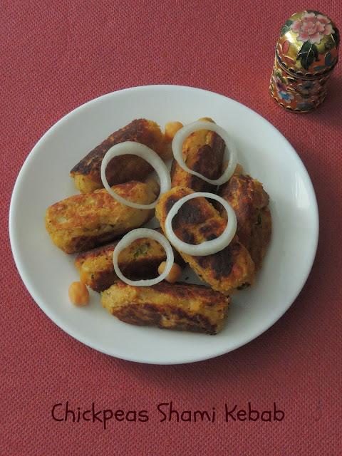 Vegan Shaami Kebab, Channa kebab