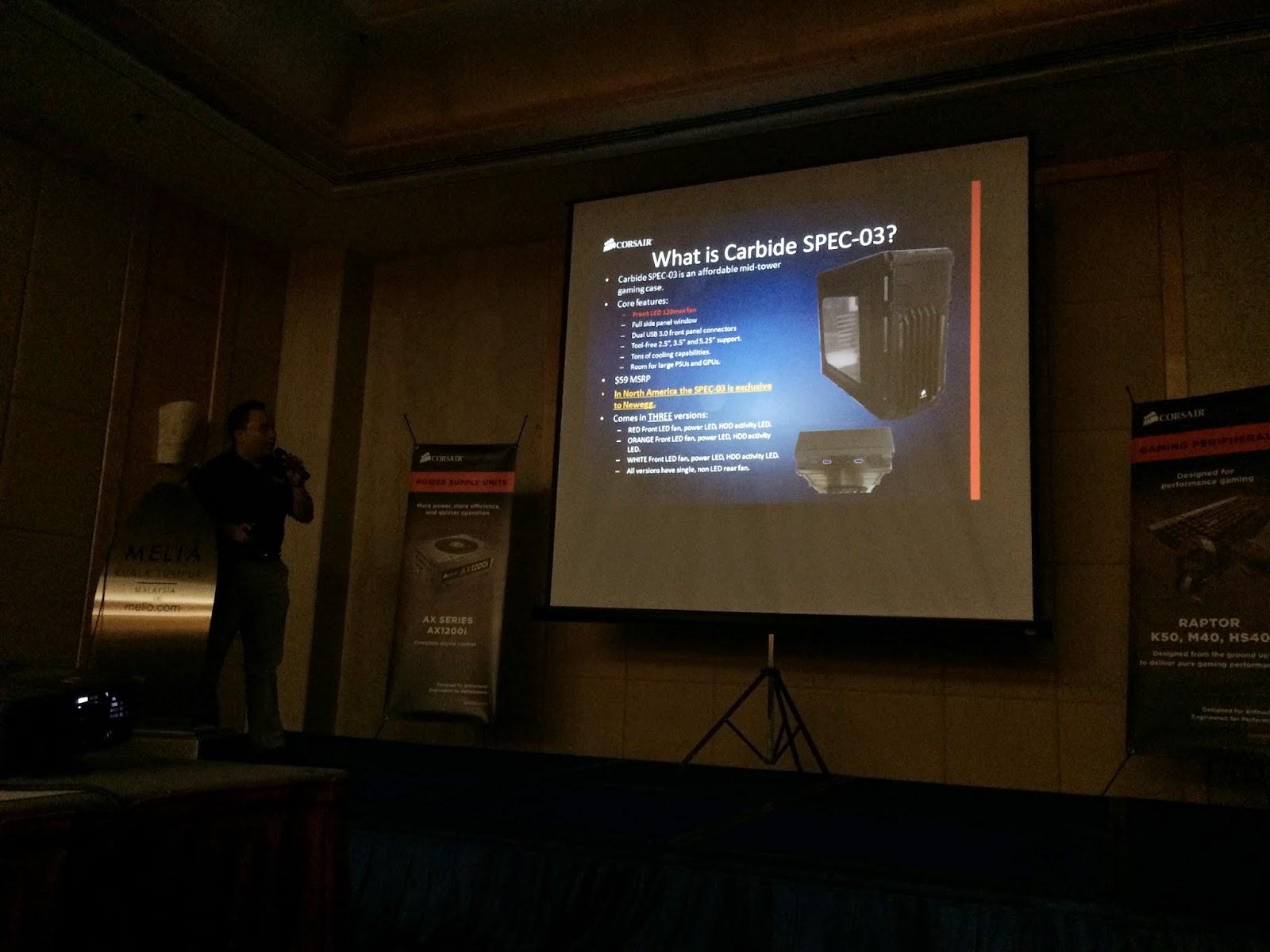 Coverage of Corsair Event @Melia Kuala Lumpur 25