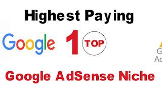 Niche Blog yang Bagus untuk google Adsense