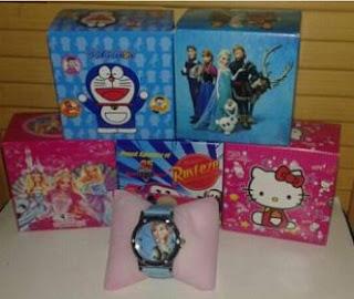 Jam Tangan Anak Karakter Doraemon