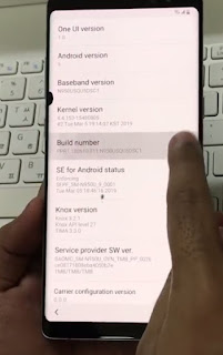 Verification Samsung Note 8 GOOGLE ACCOUNT