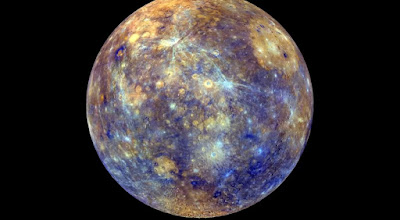 Mercury moved to Taurus sign