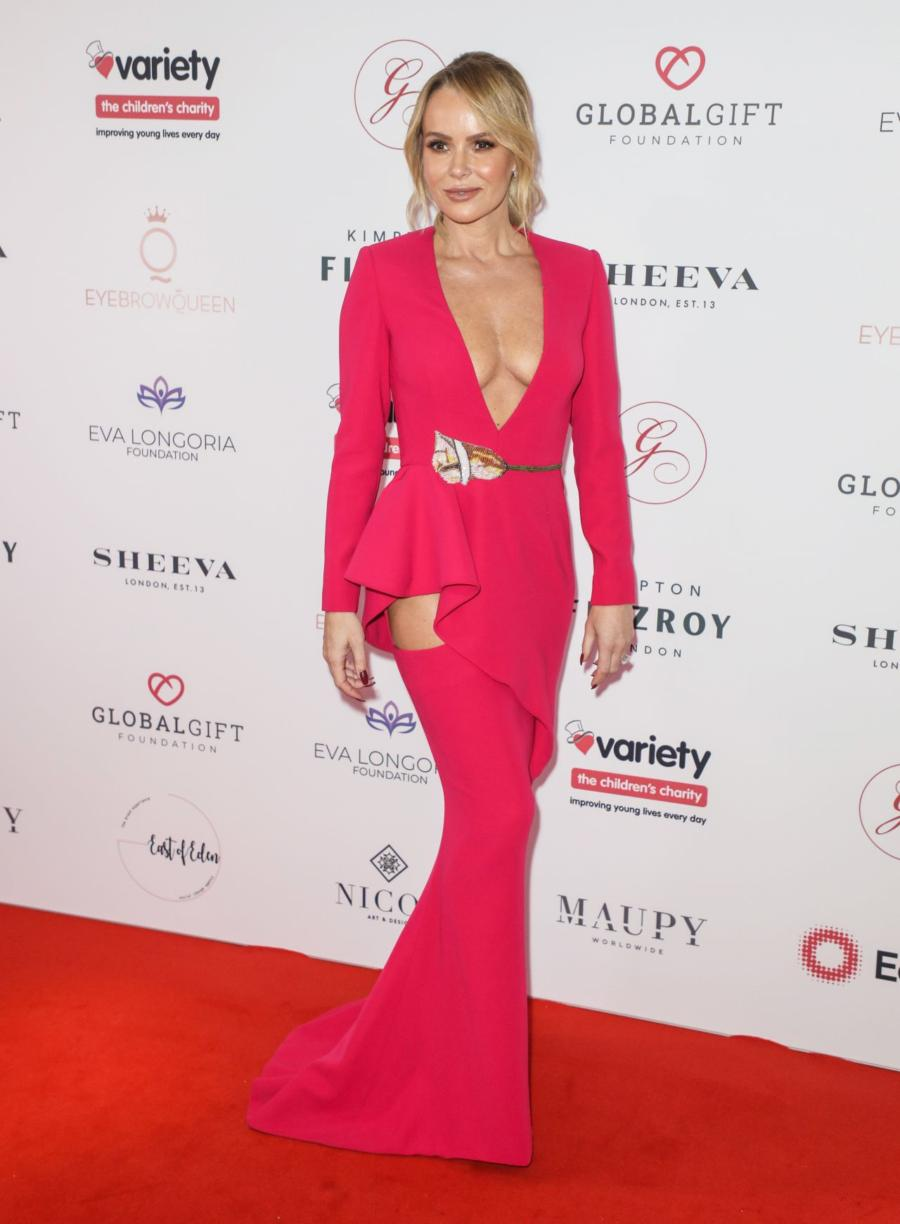 Amanda Holden at The Global Gift Gala in London
