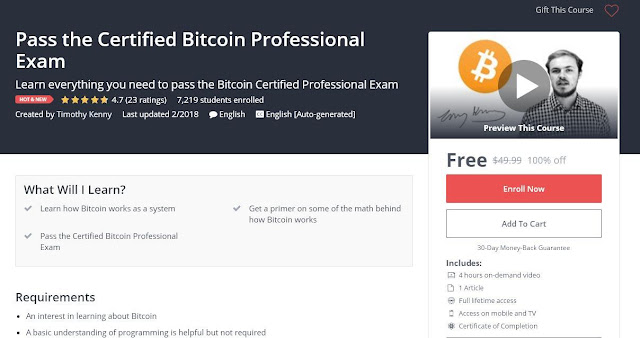 Pass the Certified Bitcoin Professional Exam