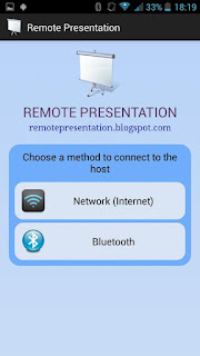 remote presentation wifi tooth