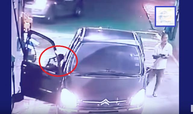 هذا ما قد يحدث اذا أبقيت سيارتك مشغلة أثناء تعبئة الوقود احذروا حتى لا يحصل معكم هذا ...شاهد بالفيديو