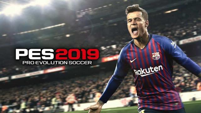 تحميل لعبة PES 2019 للكمبيوتر