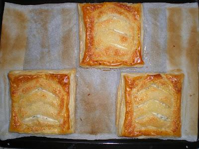 ENREJADOS DE JAMÓN YORK Y QUESO hojaldre queso cremoso receta baja en calorias light