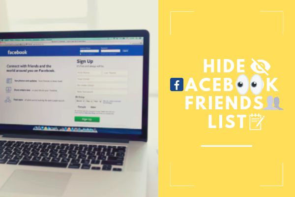 Facebook How To Hide Friends List<br/>
