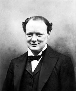 Foto de Winston Churchill en 1921