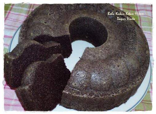 Resep Cake Kukus Ketan Hitam Jtt: Dapur VinTo: Bolu Kukus Ketan Hitam