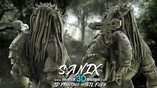 PREDATOR 3D PRINTABLE READY
